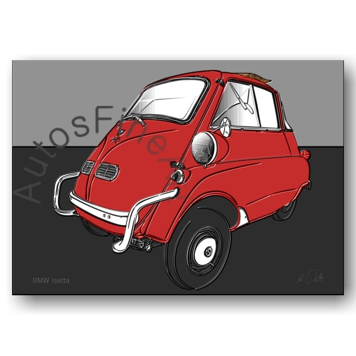 BMW Isetta - Poster No. 160up