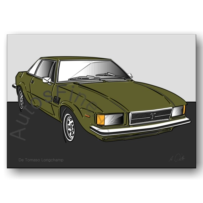 De Tomaso Longchamp - Poster No. 84up