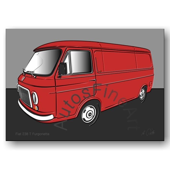Fiat 238 T Furgonetta - Poster No. 85up