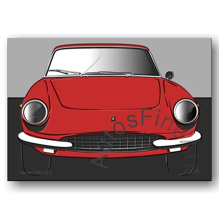 Ferrari 330 GTC - Poster No. 81up
