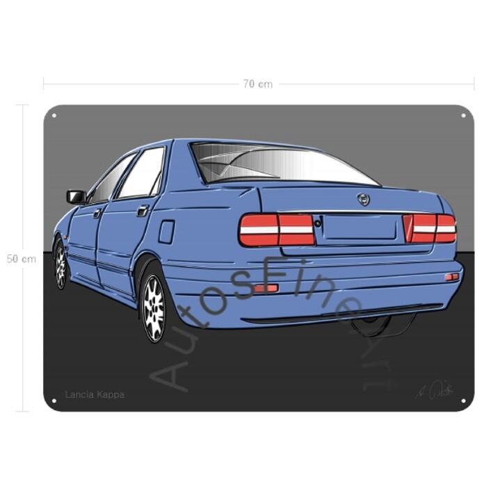 Lancia Kappa - Blechbild No. 96up