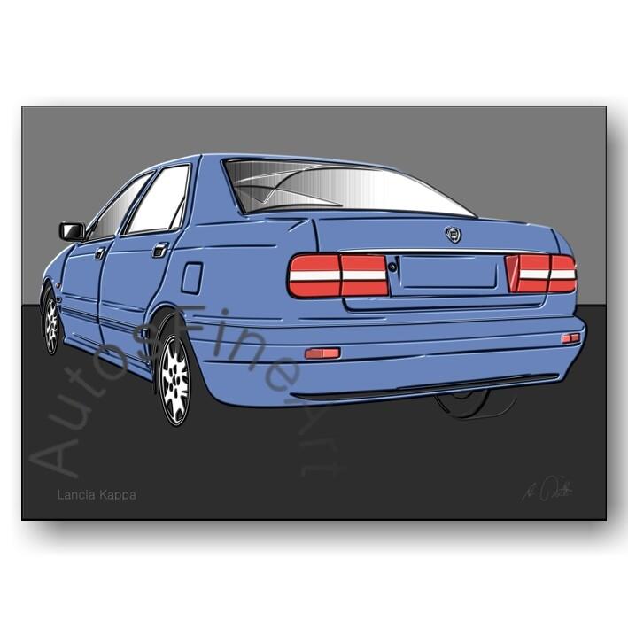 Lancia Kappa - HD Aluminiumbild No. 96up