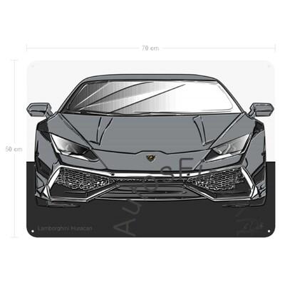 Lamborghini Huracan - Blechbild No. 163up