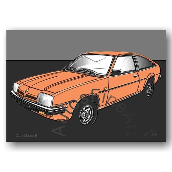 Opel Manta B - Poster No. 164up