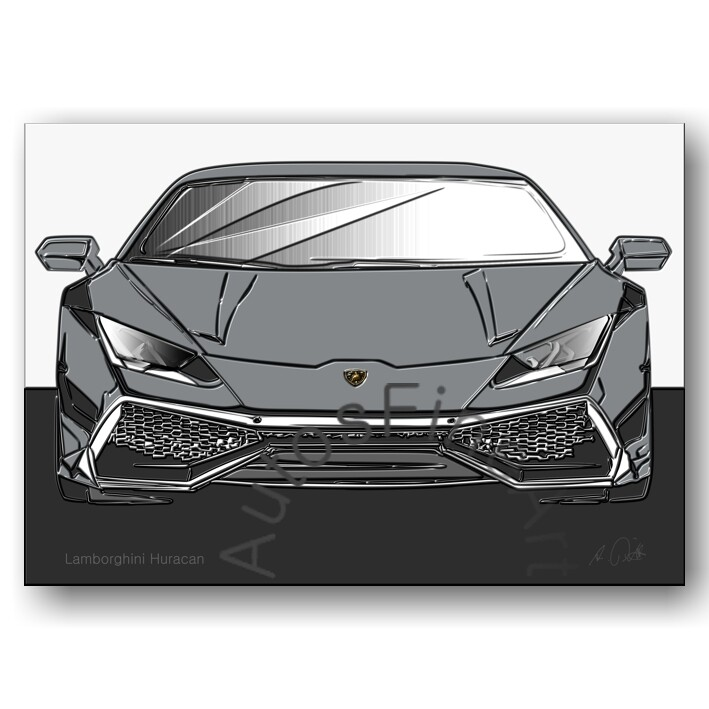 Lamborghini Huracan - Poster No. 163up