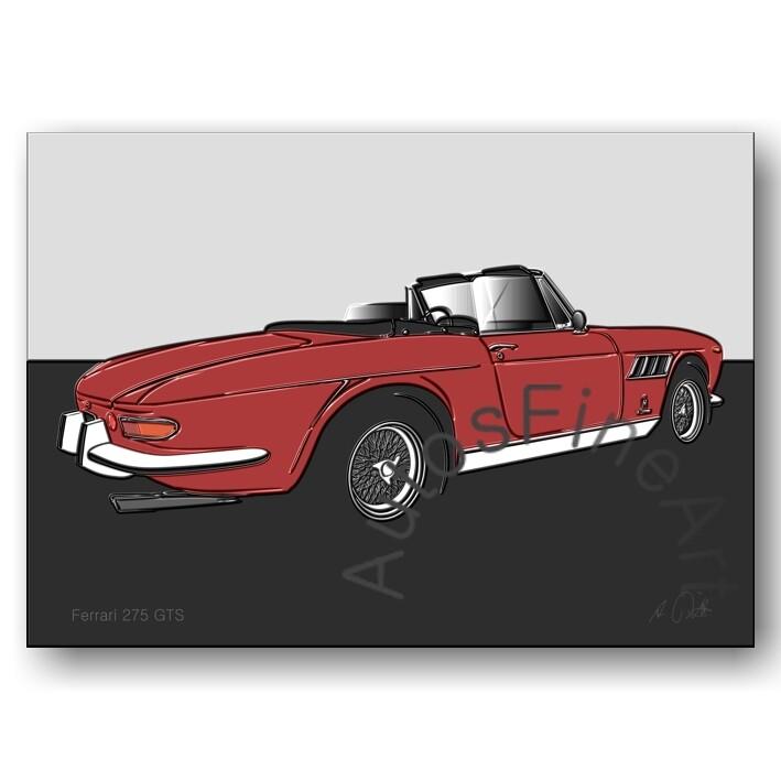 Ferrari 275 GTS - Poster No. 99up