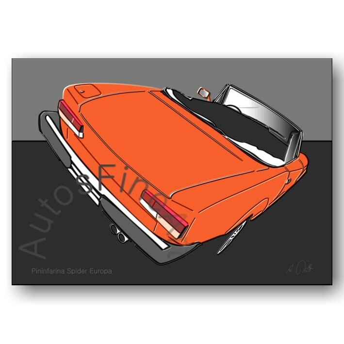 Fiat Pininfarina Spider Europa - Poster No. 31up