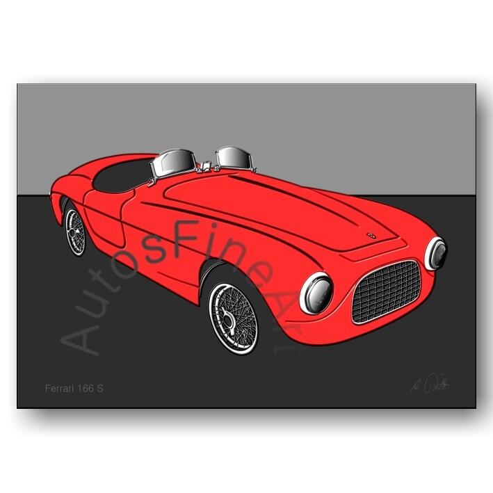 Ferrari 166 S - Poster No. 41up