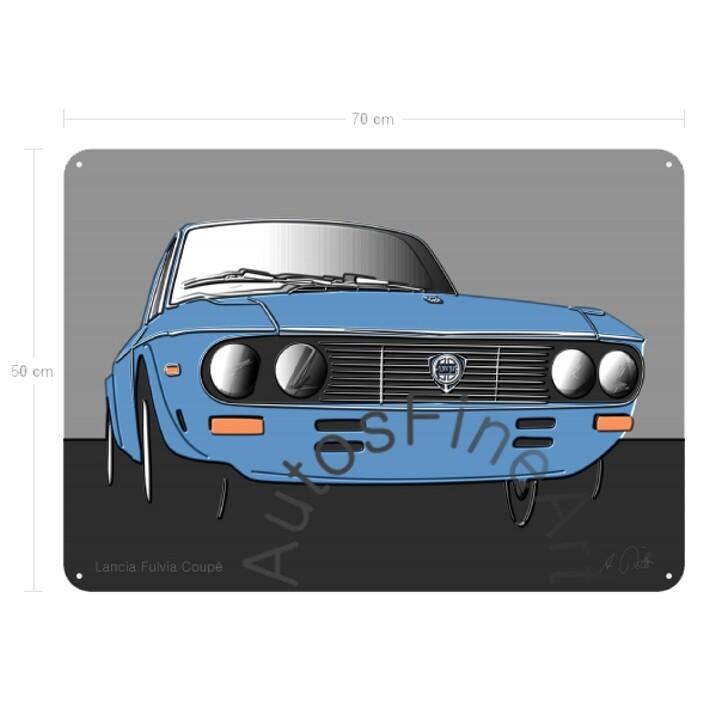 Lancia Fulvia Coupé - Blechbild No. 42up