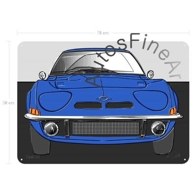 Opel GT - Blechbild No. 144up