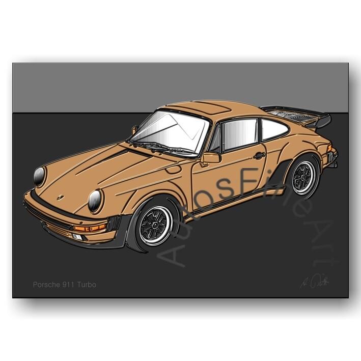 Porsche 911 Turbo - Poster No. 145up