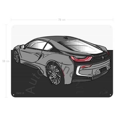 BMW i8 - Blechbild No. 146up