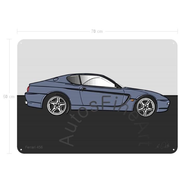 Ferrari 456 - Blechbild No. 101up