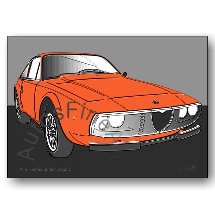 Alfa Romeo Junior Zagato - Poster No. 103up