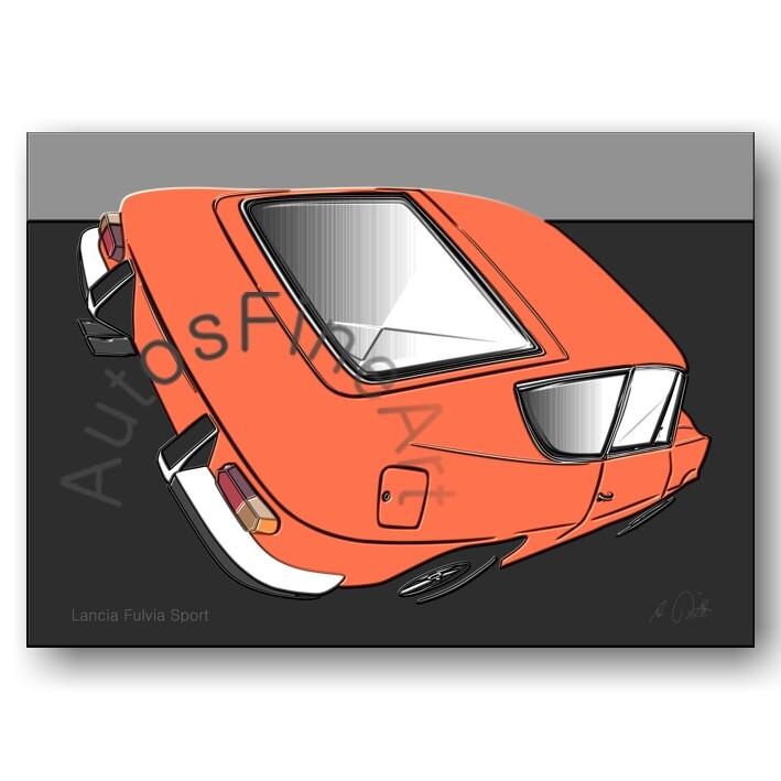 Lancia Fulvia Sport - Poster No. 108up