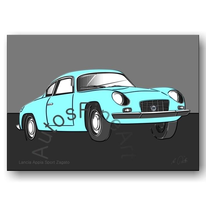 Lancia Appia Sport Zagato - Poster No. 110up