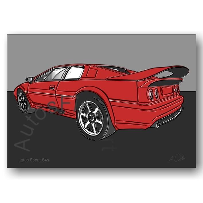 Lotus Esprit S4s - Poster No. 149up