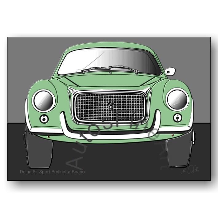 Daina SL Sport Berlinetta Boano - Poster No. 59up