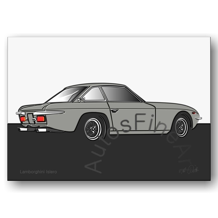 Lamborghini Islero - Poster No. 52up