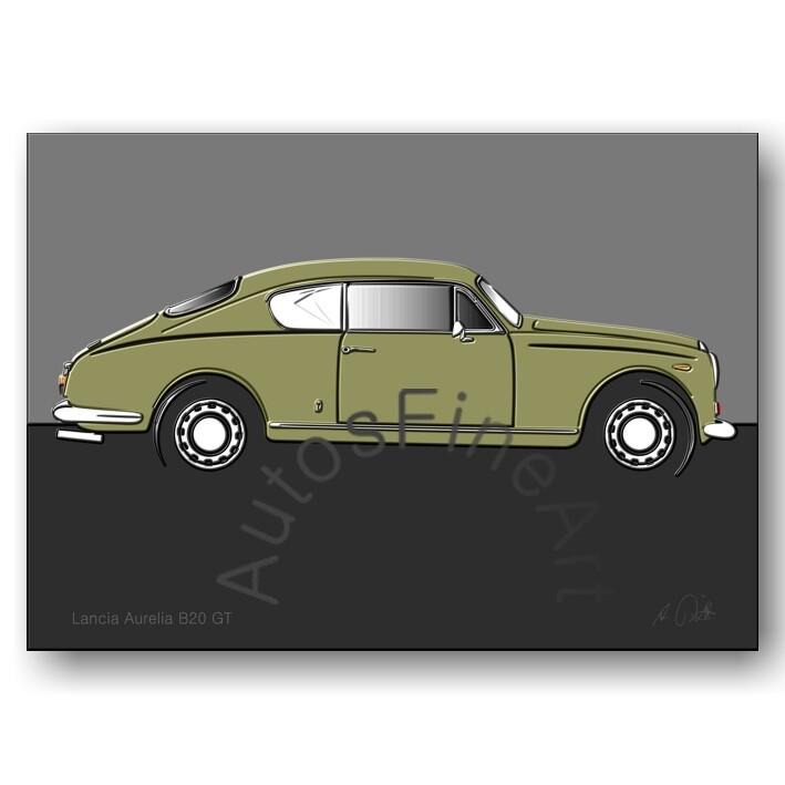 Lancia Aurelia B20 GT -Poster No. 53up