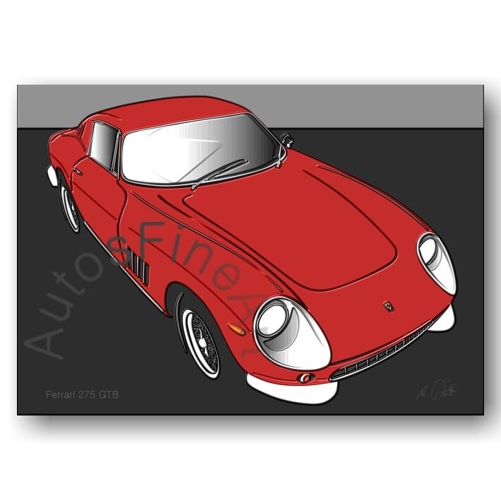 Ferrari 275 GTB - HD Aluminiumbild No. 56up