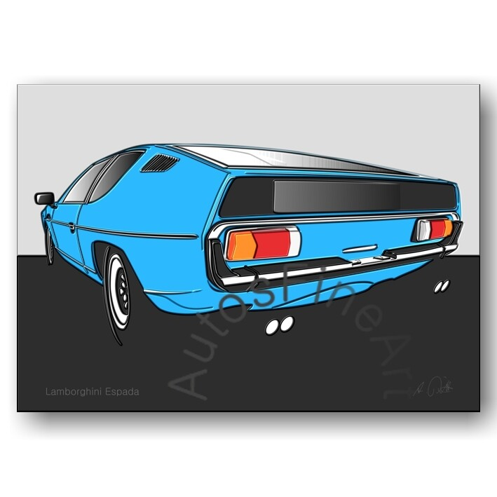 Lamborghini Espada - Poster No. 57up