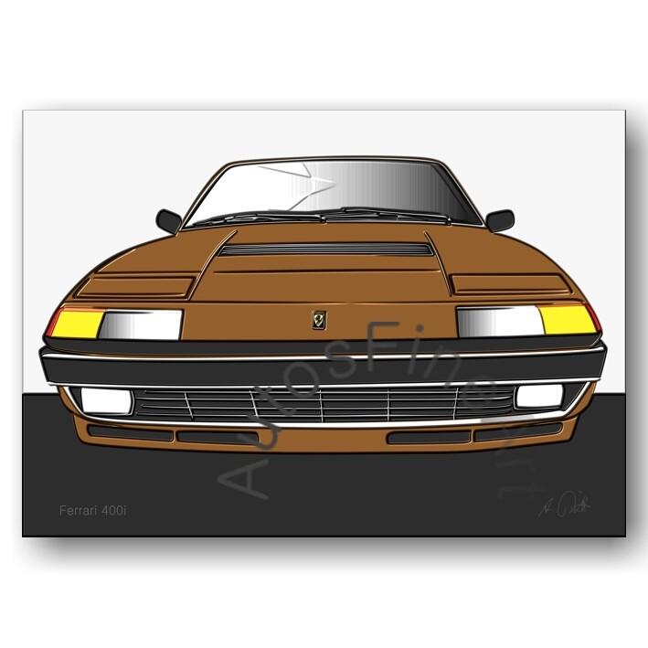 Ferrari 400i - Poster No. 65up