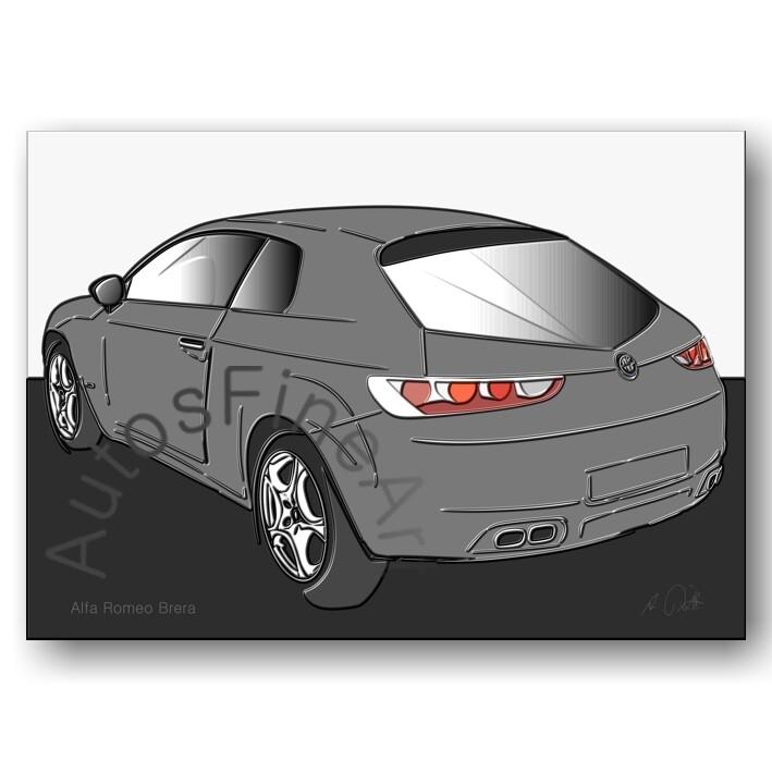 Alfa Romeo Brera - Poster No. 74up