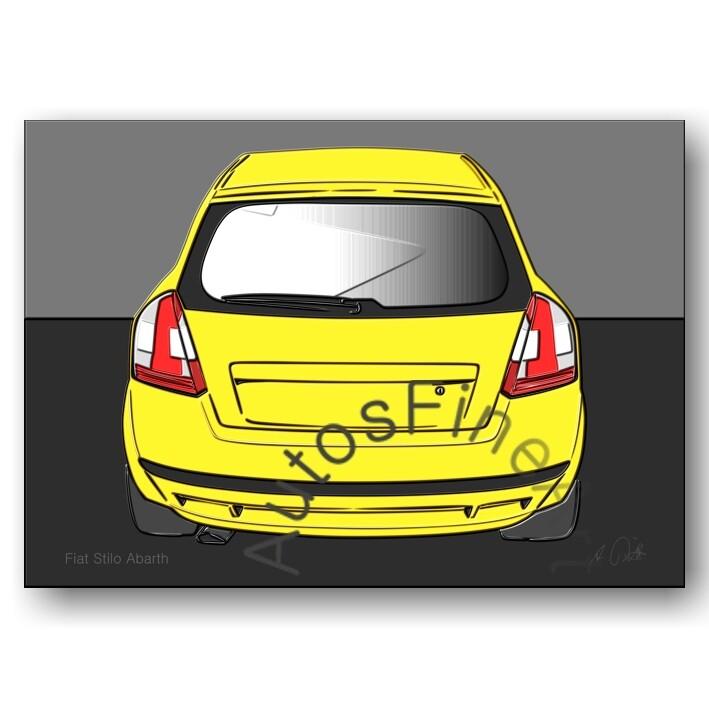 Fiat Stilo Abarth - Poster No. 77up