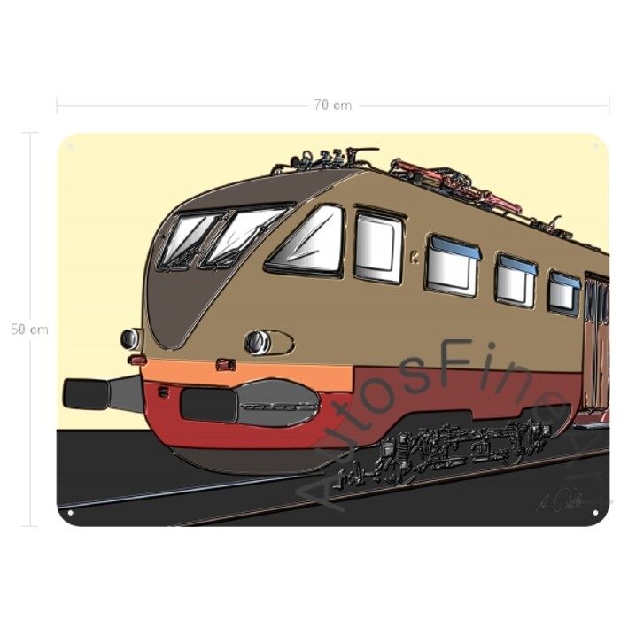 Blechbild RAILWAYup No. 3 ITALIAN TRAIN