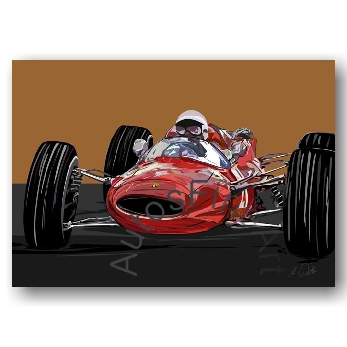 Grand Prix 1967 - HD Aluminiumbild No. 167special