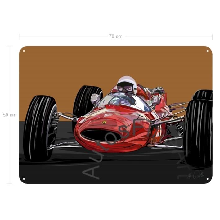 Grand Prix 1965 - Blechbild No. 167special