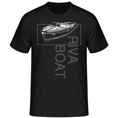 RIVA-BOOT Männer T-Shirt - SHIP2sketch