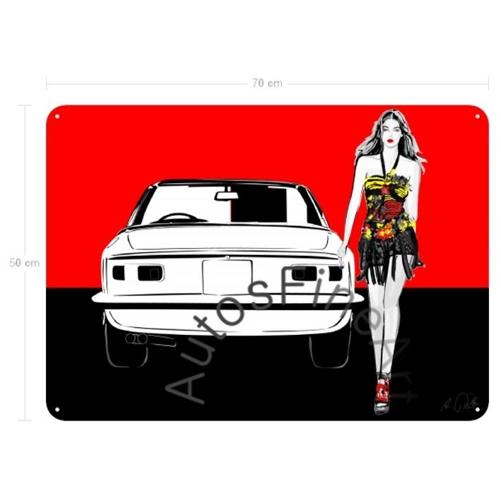 Maserati Mistral Spyder - Blechbild No. 66fashion
