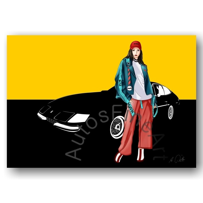 Ferrari 365 GTB/4 DAYTONA - HD Aluminiumbild No. 6fashion
