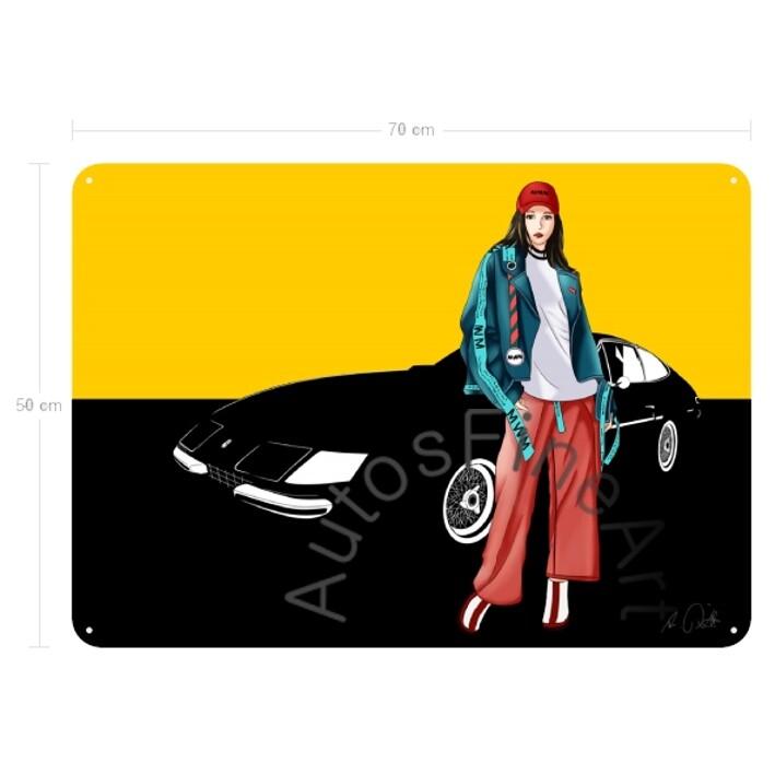 Ferrari 365 GTB/4 DAYTONA - Blechbild No. 6fashion