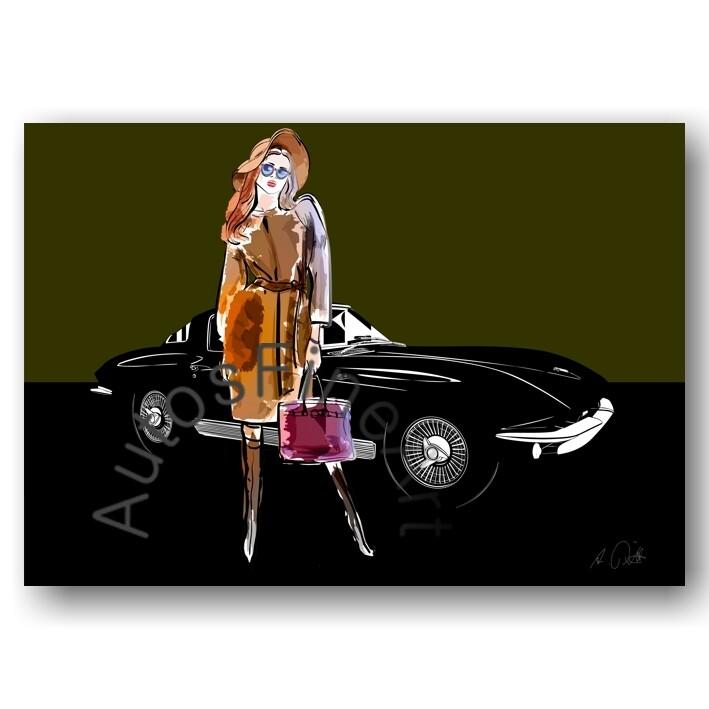 Chevrolet Corvette C2 Stingray - Poster No. 156fashion