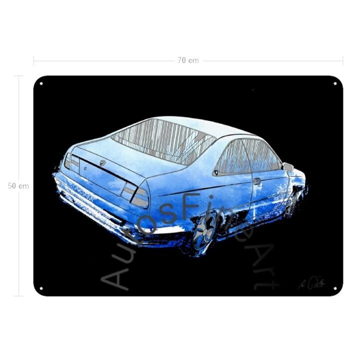 Lancia Kappa Coupé - Blechbild No. 22x