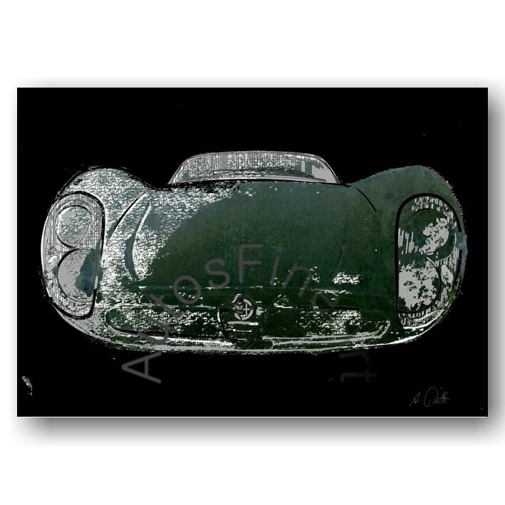 Alfa Romeo 33 Stradale - HD Aluminiumbild No. 83x