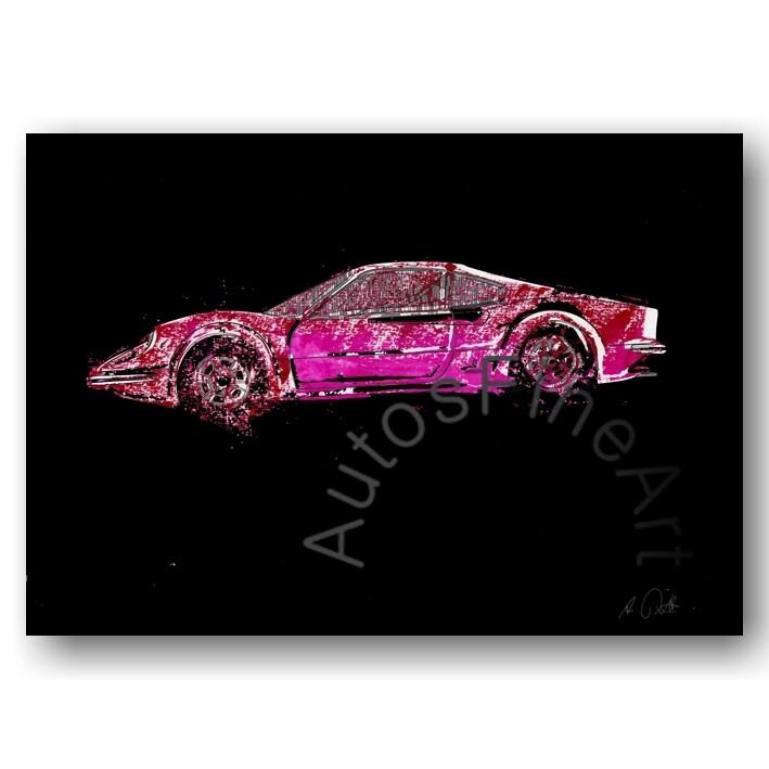 Ferrari Dino 206 GT - Poster No. 19x