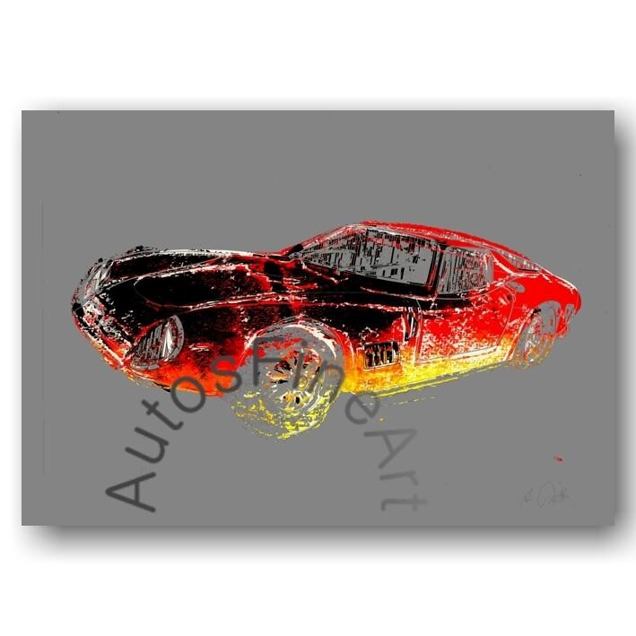 Bizzarrini GT 5300 - Kunstdruck No. 10x