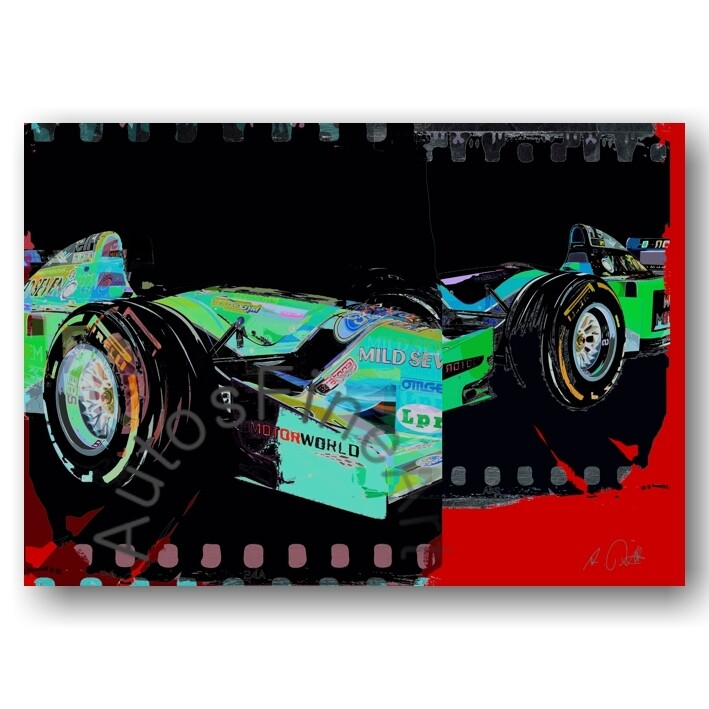 Benetton Formel 1 Schumacher 1994 - HD Aluminiumbild No. 169specialStreet