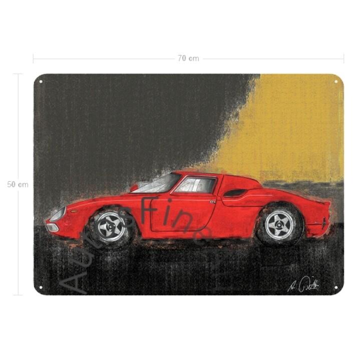 Ferrari 250 LM - Blechbild No. 78vintage