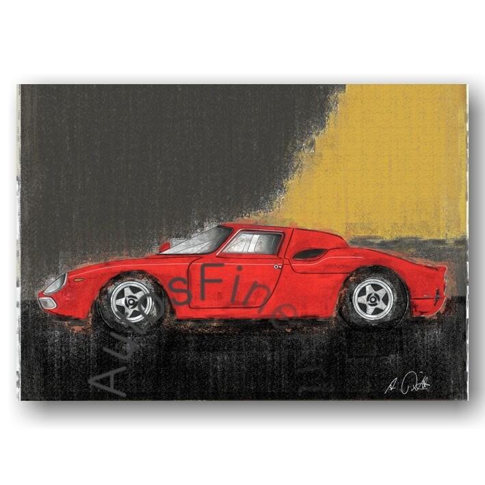 Ferrari 250 LM - HD Aluminiumbild No. 78vintage