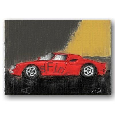 Ferrari 250 LM - Kunstdruck No. 78vintage