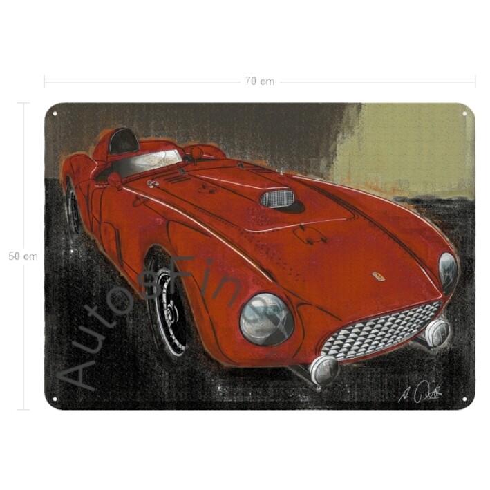 Ferrari 375MM - Blechbild No. 158vintage