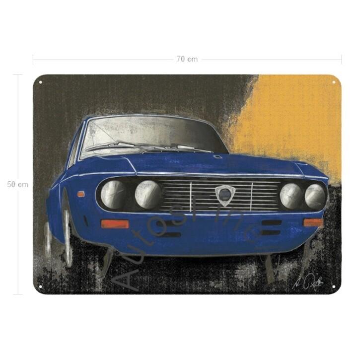 Lancia Fulvia Coupé - Blechbild No. 42vintage