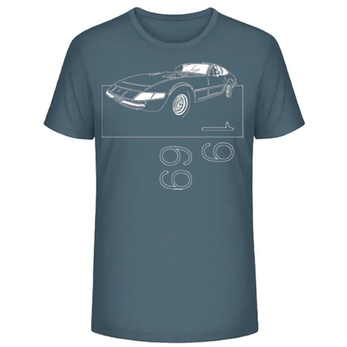 Ferrari 365 GTB/4 DAYTONA Männer T-Shirt - No. 6sketch