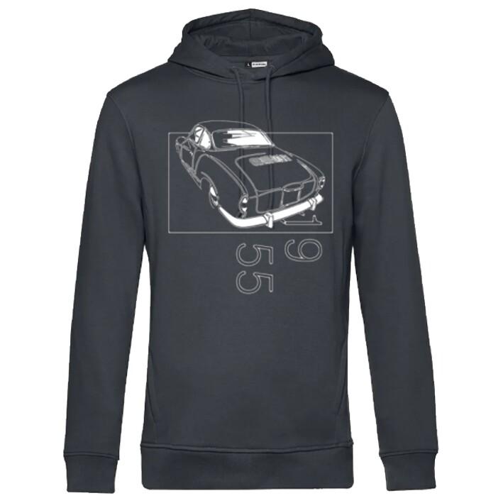 VW Karmann Ghia Männer Hoodie - No. 154sketch