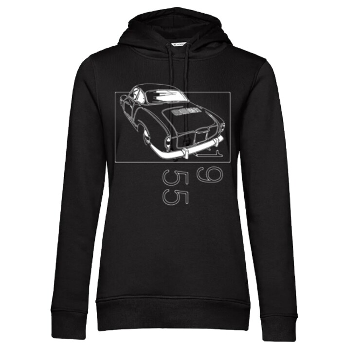 VW Karmann Ghia Frauen Hoodie - No. 154sketch